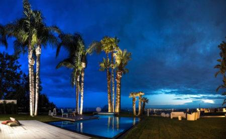 giardino e piscina Villa Ester