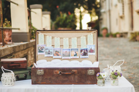 Tema Matrimonio Originale 2018 : Tableau de mariage fai da te idee per il tema perfetto