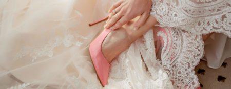 scarpe colore matrimonio