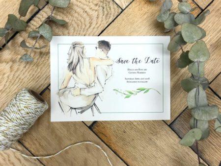 partecipazioni di nozze artistiche