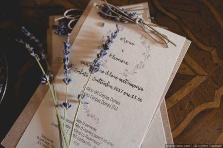 partecipazioni di nozze ecologiche